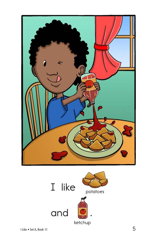 Book Preview For I Like Page 5