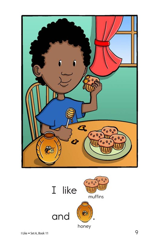 Book Preview For I Like Page 9