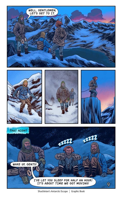 Book Preview For Shackleton's Antarctic Escape Page 10