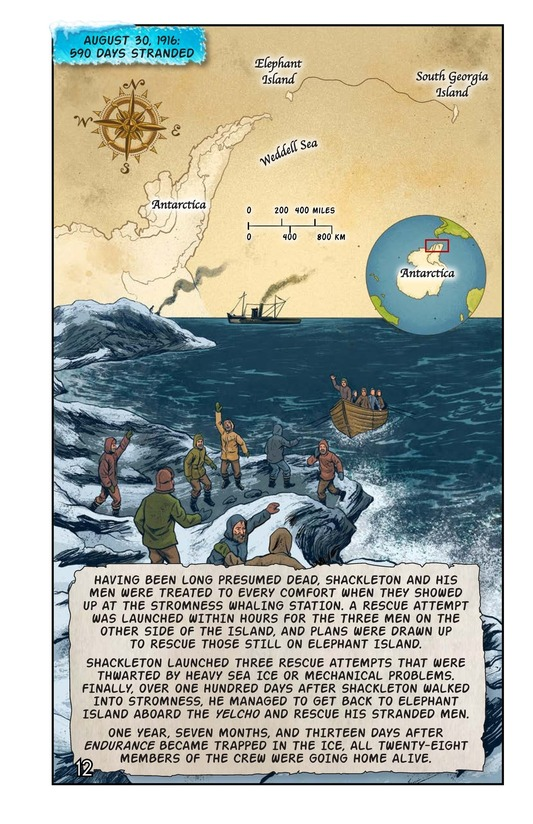 Book Preview For Shackleton's Antarctic Escape Page 13