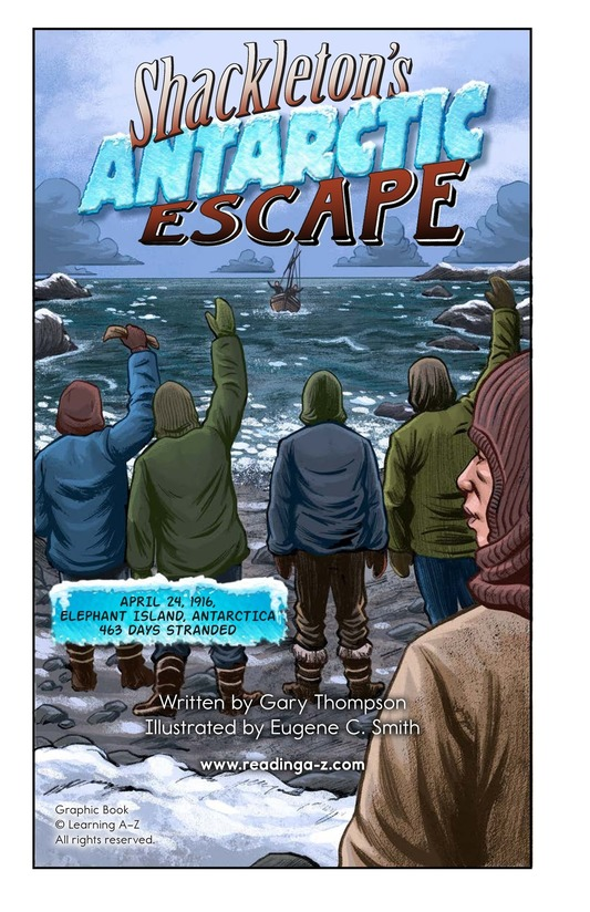 Book Preview For Shackleton's Antarctic Escape Page 2
