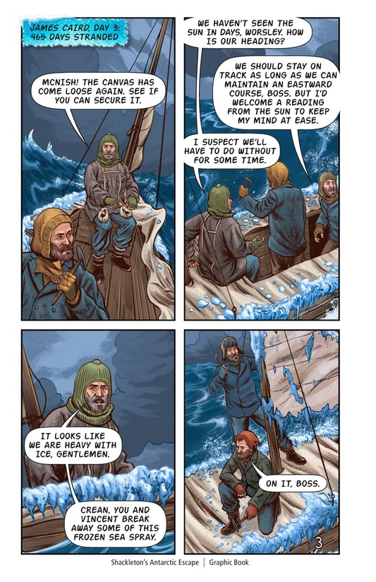 Book Preview For Shackleton's Antarctic Escape Page 4