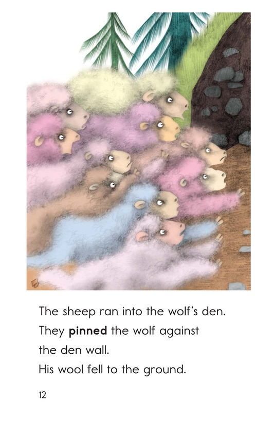 Book Preview For A Wolf in Sheep's Clothing Page 12