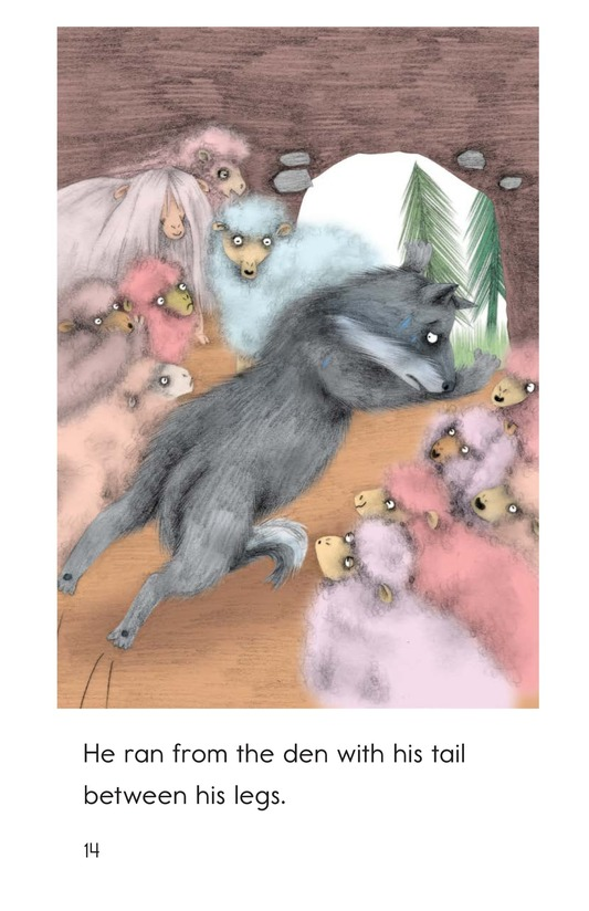 Book Preview For A Wolf in Sheep's Clothing Page 14