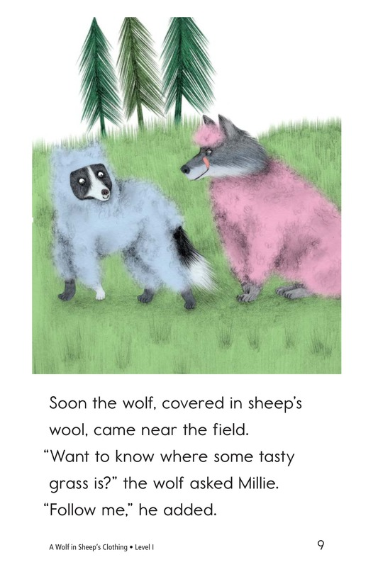 Book Preview For A Wolf in Sheep's Clothing Page 9