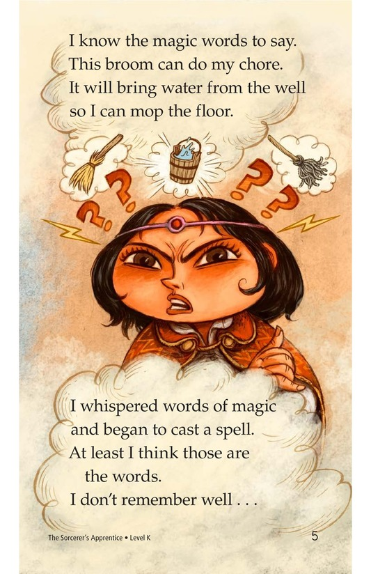 Book Preview For The Sorcerer's Apprentice Page 5