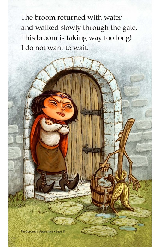 Book Preview For The Sorcerer's Apprentice Page 7