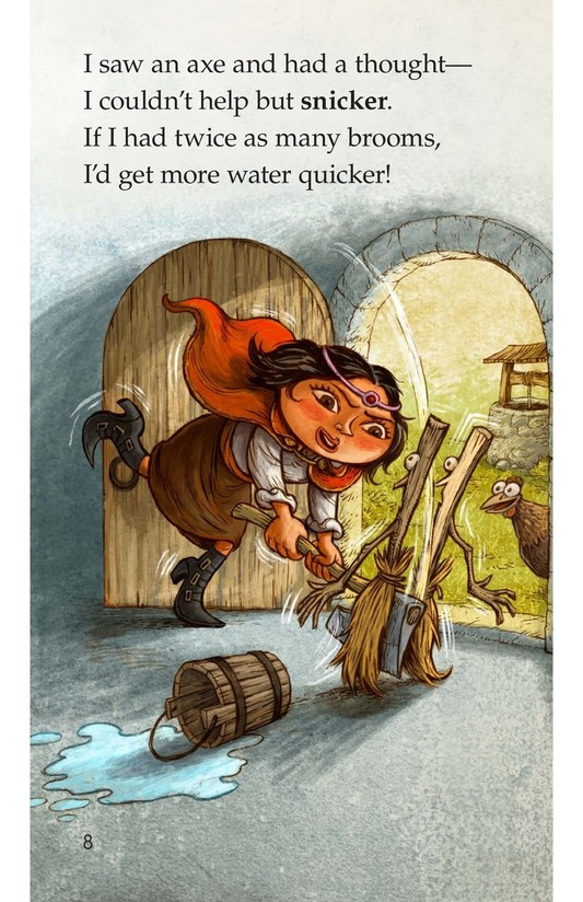 Book Preview For The Sorcerer's Apprentice Page 8
