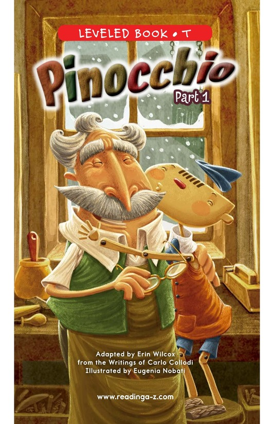 Book Preview For Pinocchio, Part 1 Page 0