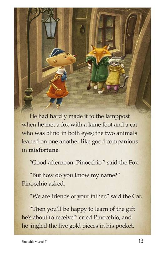 Book Preview For Pinocchio, Part 1 Page 13
