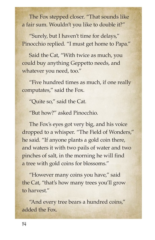 Book Preview For Pinocchio, Part 1 Page 14