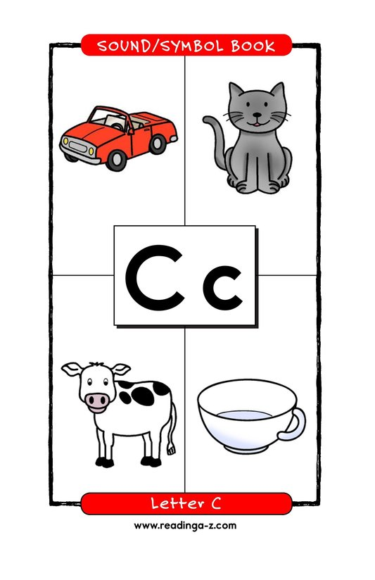 Book Preview For Consonant Letter C Page 1