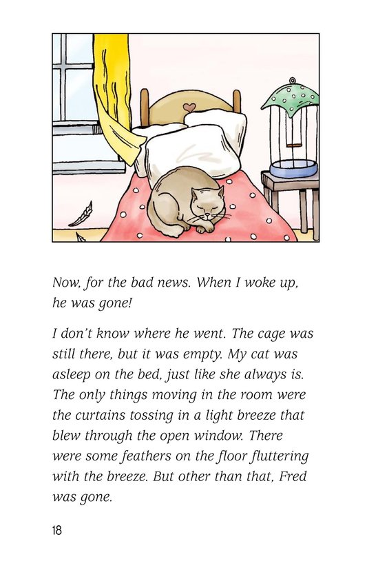 Book Preview For A Late Night Chat with a Parakeet Page 18