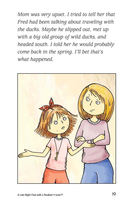Book Preview For A Late Night Chat with a Parakeet Page 19