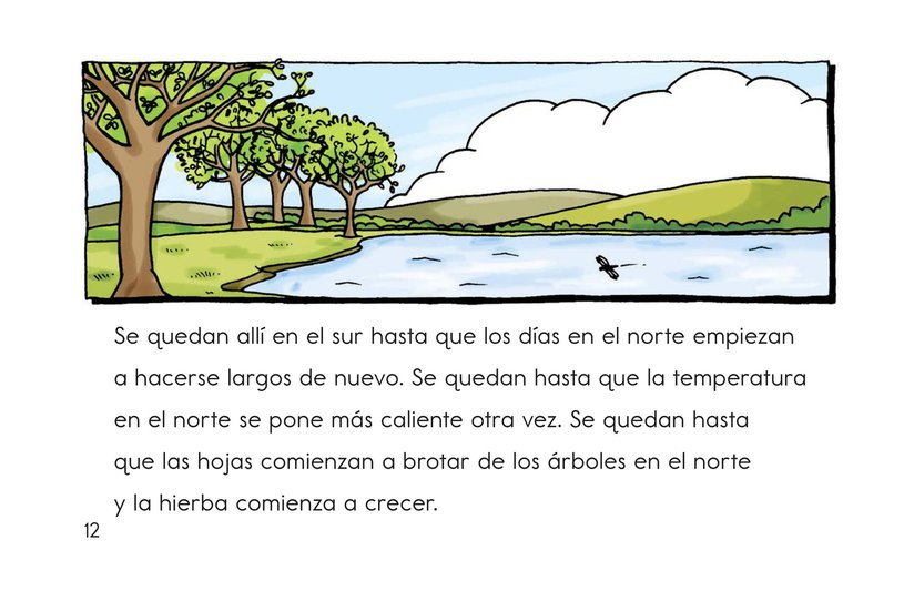 Book Preview For Migrating Geese Page 12
