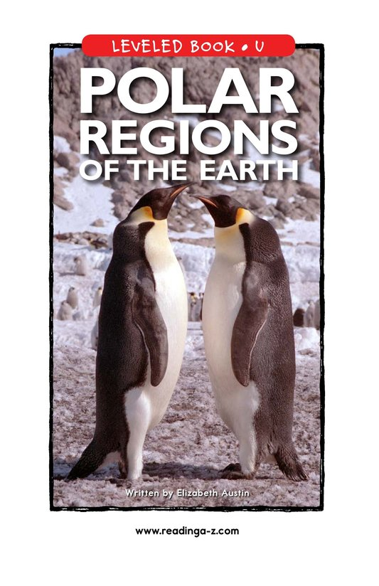 Book Preview For Polar Regions of the Earth Page 0