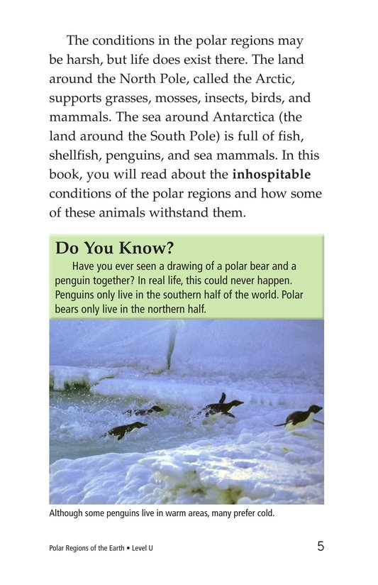 Book Preview For Polar Regions of the Earth Page 5