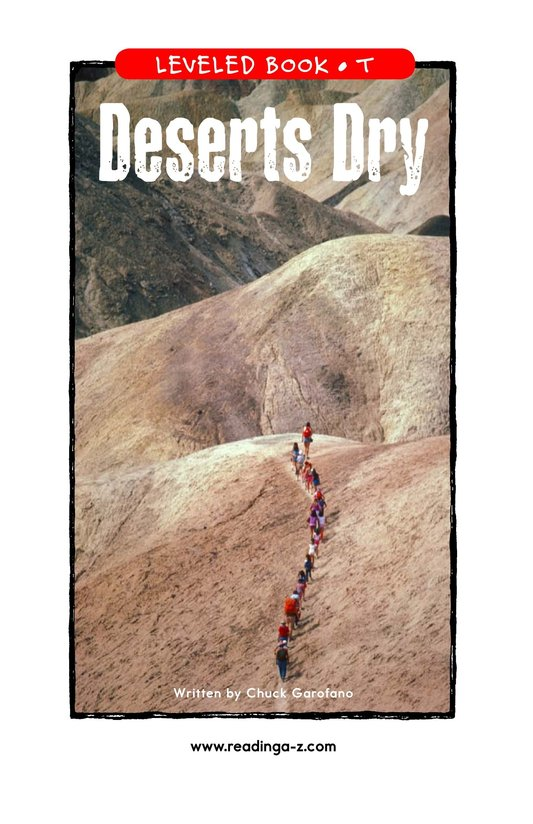 Book Preview For Deserts Dry Page 1