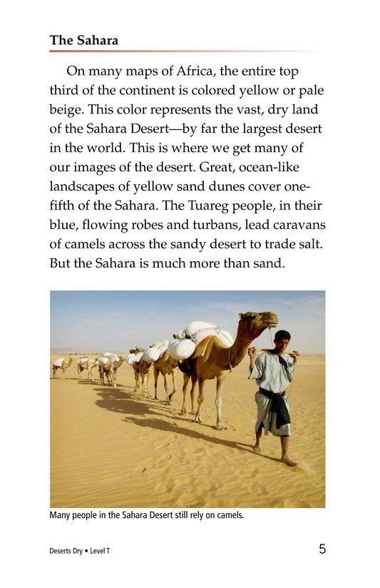 Book Preview For Deserts Dry Page 5