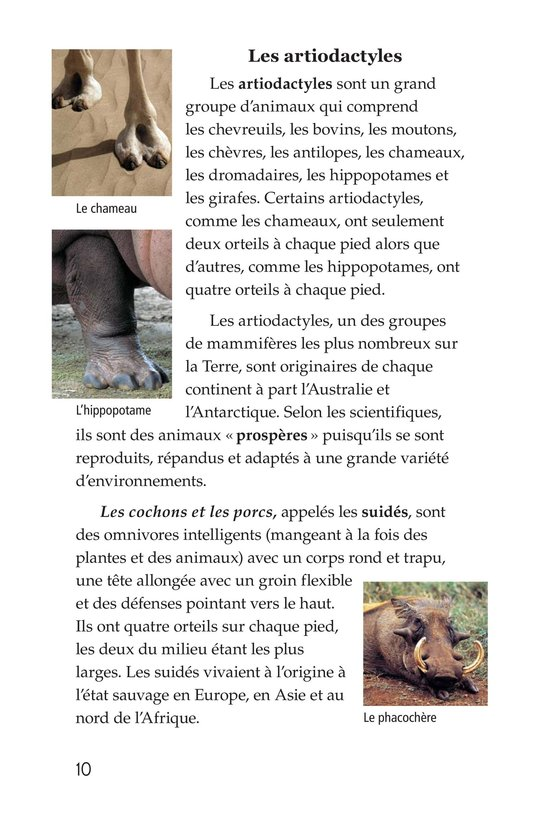 Book Preview For Hoofed Animals Page 10