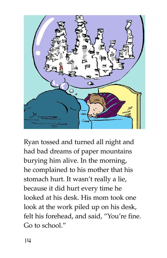 Book Preview For The Homework Lesson Page 14