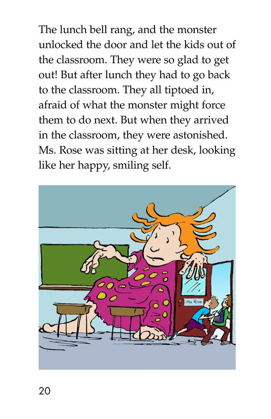 Book Preview For The Homework Lesson Page 20