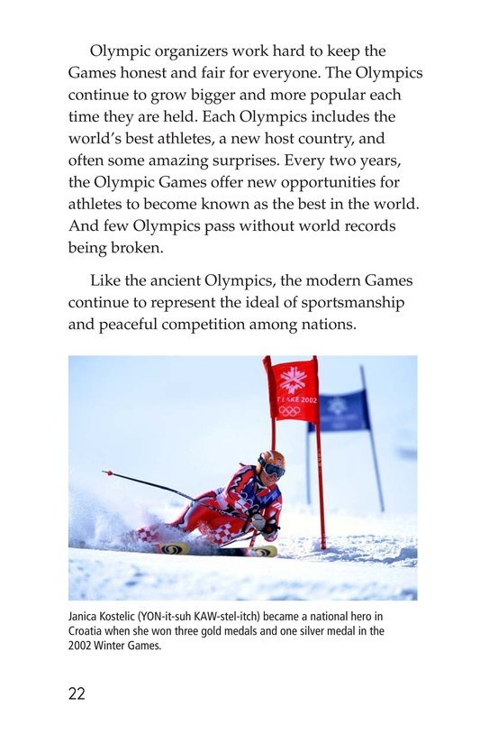 Book Preview For The Olympics: Past and Present Page 22