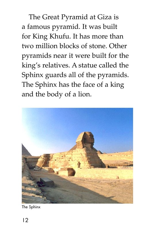 Book Preview For Ancient Egypt Page 12