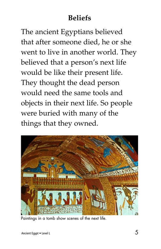 Book Preview For Ancient Egypt Page 5