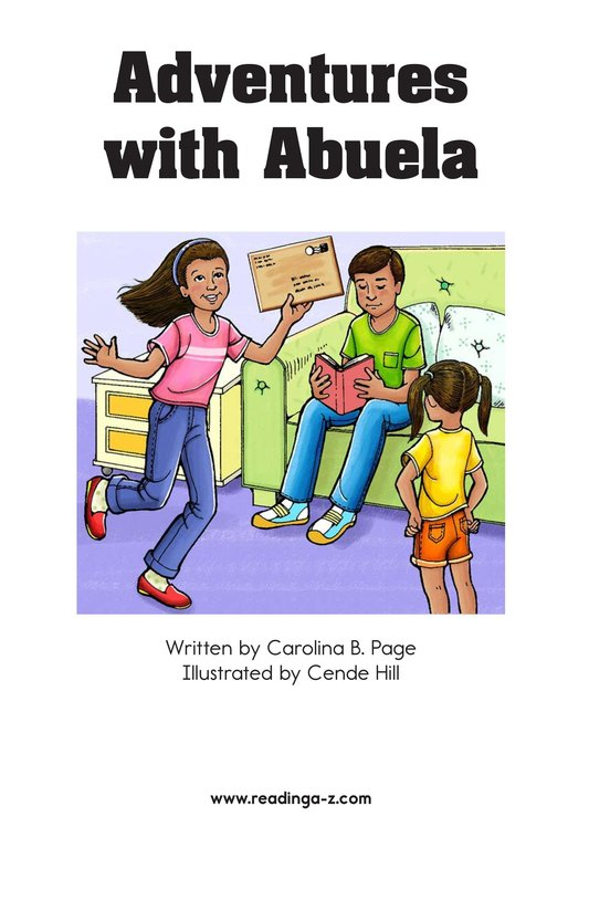 Book Preview For Adventures with Abuela Page 2