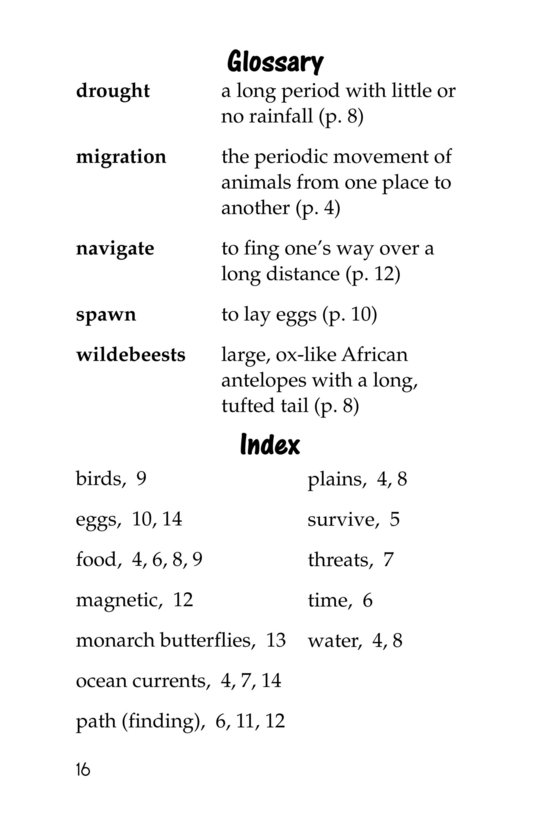 Book Preview For The Magic of Migration Page 16