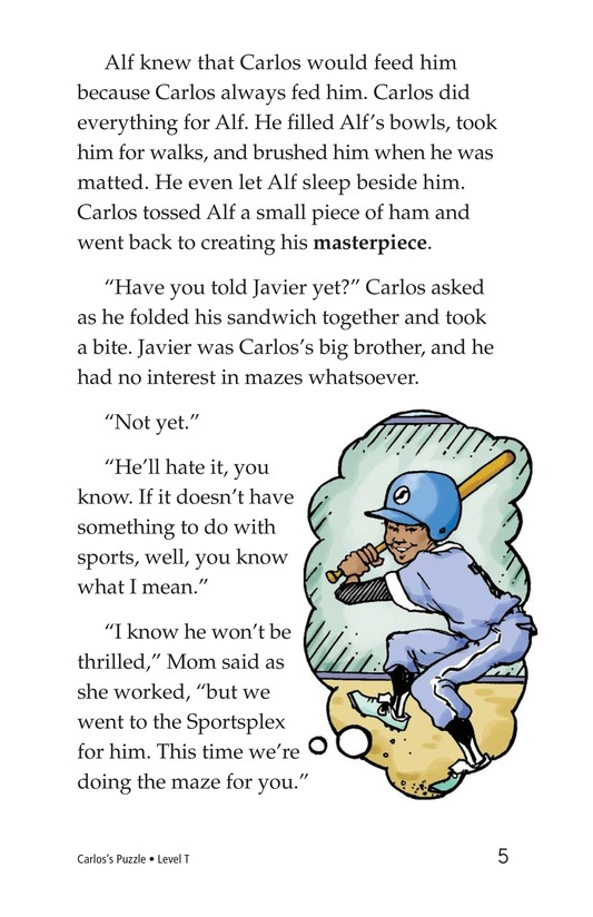 Book Preview For Carlos's Puzzle Page 5