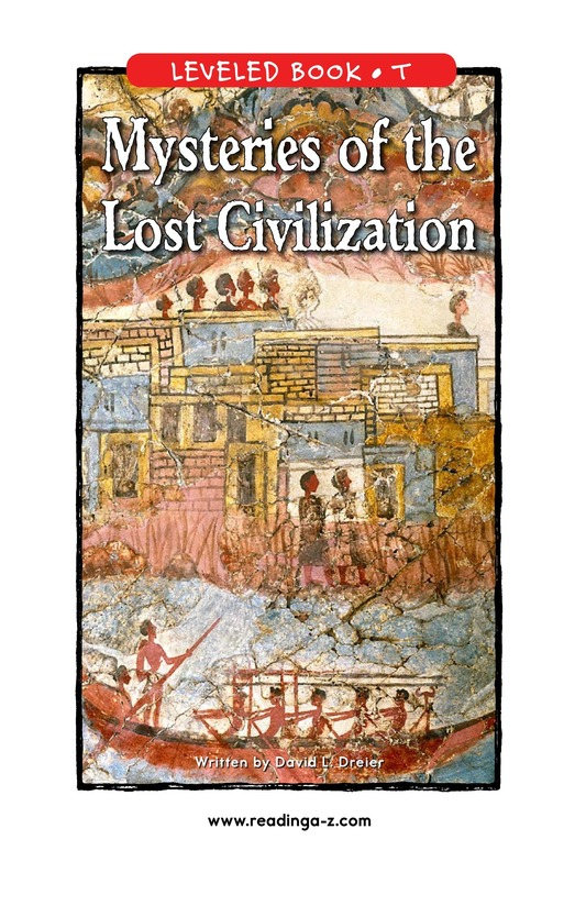 Book Preview For Mysteries of the Lost Civilization Page 1