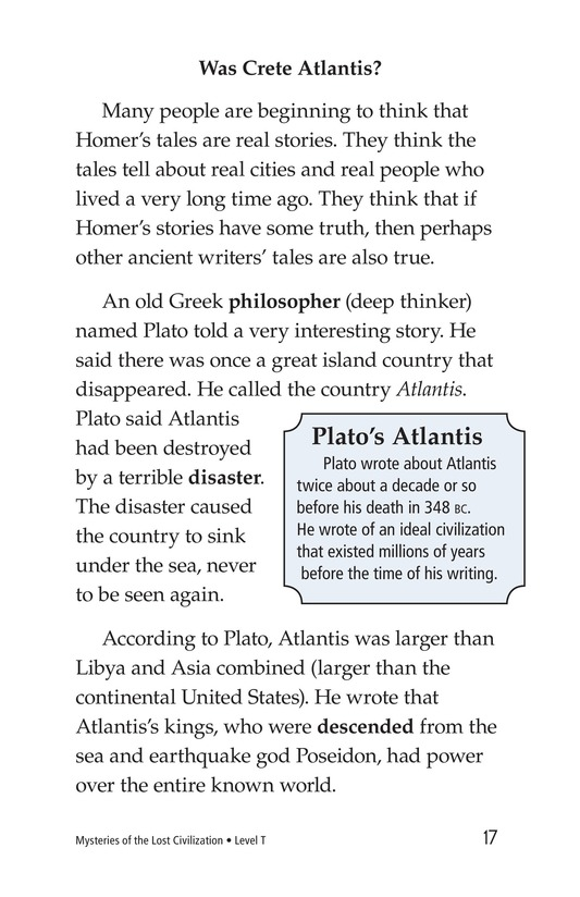 Book Preview For Mysteries of the Lost Civilization Page 17
