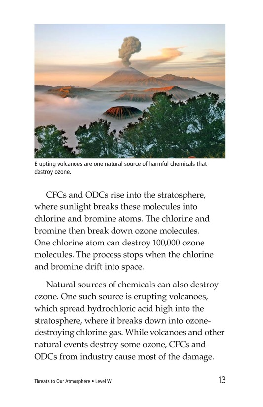 Book Preview For Threats to Our Atmosphere Page 13