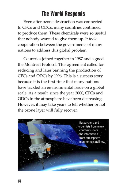 Book Preview For Threats to Our Atmosphere Page 14